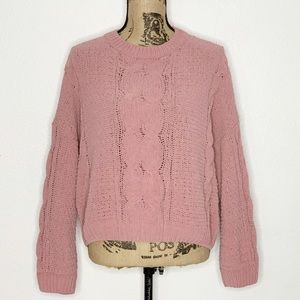 Urban Outfitters Pink Pullover Sweater Size Small